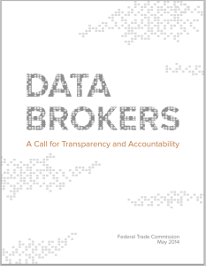 data broker ftc report cover